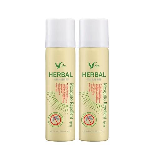 Herbal防蚊防護噴霧60mlx2