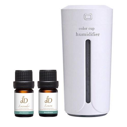 JD薰衣草精油5ml+JD檸檬精油5ml+USB霧化機