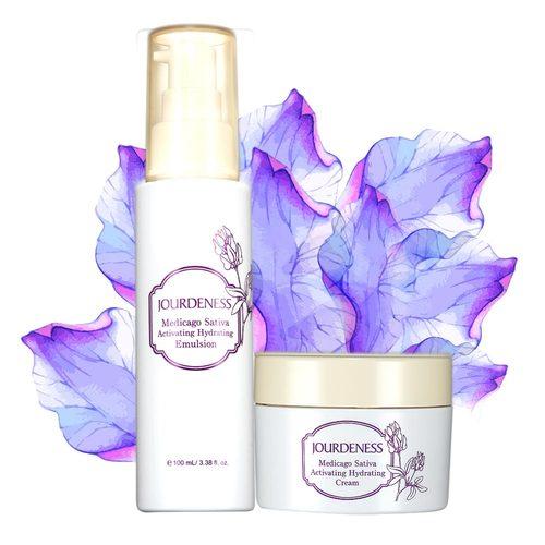 紫花苜蓿活妍保濕乳100ml+保濕霜50ml