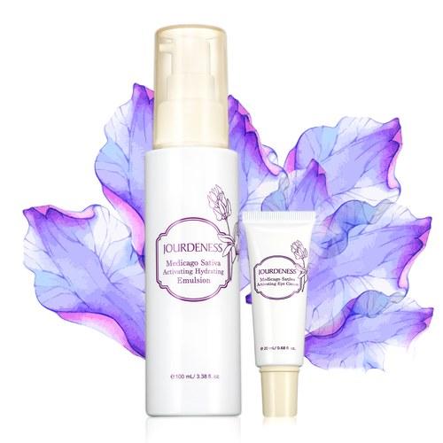 紫花苜蓿活妍保濕乳100ml+眼霜20ml