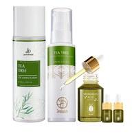 茶樹控油化妝水+茶樹控油保濕乳液+苦杏仁酸溫和煥顏露 贈苦杏仁酸5mlx2