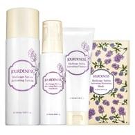 紫花苜蓿活妍潔膚乳120ml+化妝水150ml+保濕乳100ml贈面膜x1