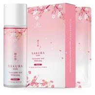 櫻の雪傳明酸美白化妝水150ml+面膜5片/盒贈美白面膜x1